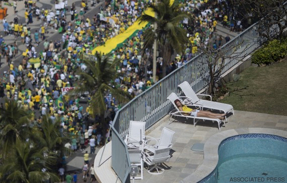 brasil demonstration