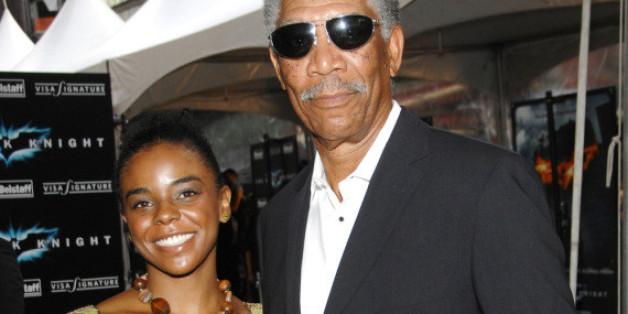 Morgan Freeman mit seiner Stiefenkelin E'Dena Hines
