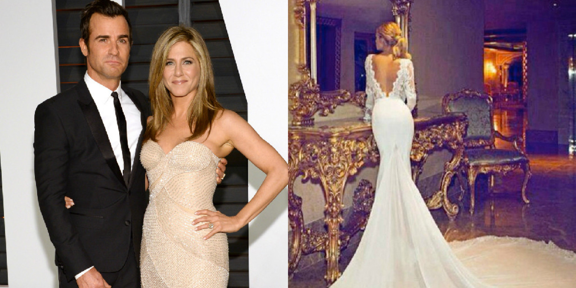 Viral Jennifer Aniston Wedding Dress Designed By Dimitrius