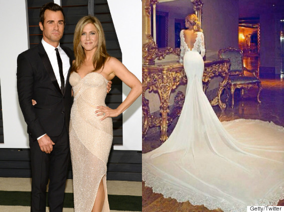 Jennifer Aniston Wedding Dress Photo Revealed To Be Fake