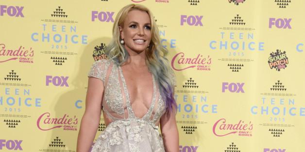 """Style Icon"" Britney Spears bei den Teen Choice Awards"