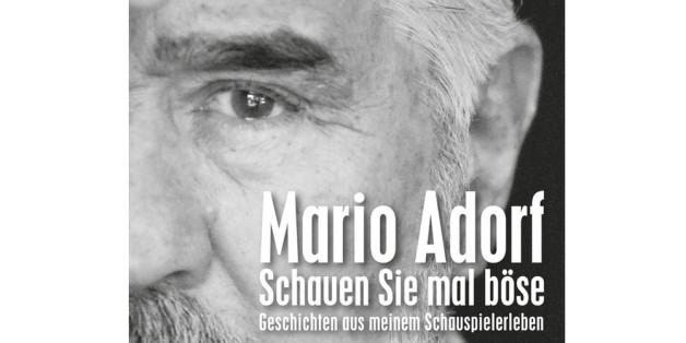 """""""Schauen Sie mal böse"""" heißt das neue Buch von Mario Adorf"""