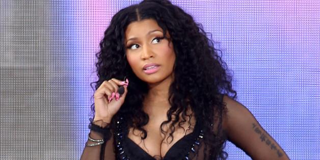 So verdutzt wie auf diesem Bild wird Nicki Minaj wohl auch nach der Pfefer-Spray-Attacke während einem ihrer Konzerte geguckt haben