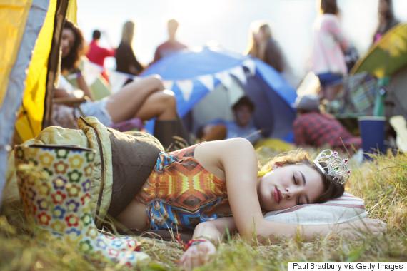 tired festival