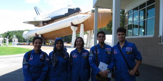 """Des lycéens marocains dans un """"space-camp"""" de l'Alabama"""