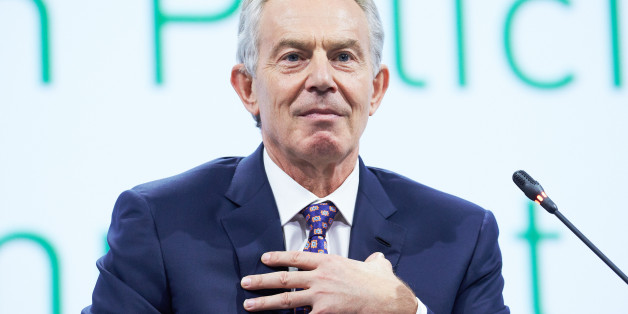SAINT PETERSBURG, RUSSIA - JUNE 18: Tony Blair, former U.K. prime minister, attends a session of the SPIEF2015 Saint Petersburg International Economic Forum on June 18, 2015 in Saint Petersburg, Russia. (Photo by Oleg Nikishin/Epsilon/Getty Images)