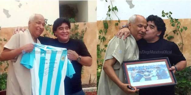 Buenos Aires - La BocaBoca's most famous player, #10 Diego Maradona