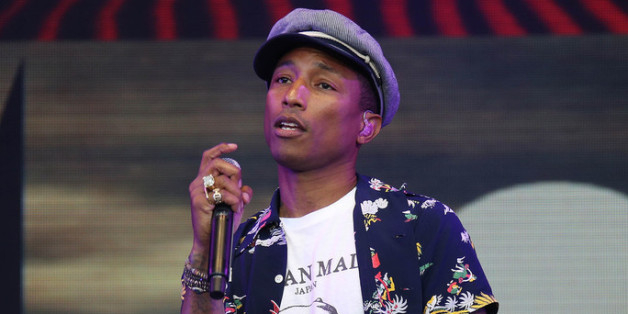 Pharrell Williams ist beim Apple Music Festival dabei
