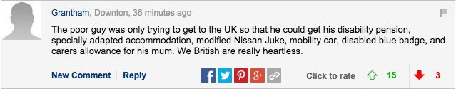 daily mail comments migrants calais