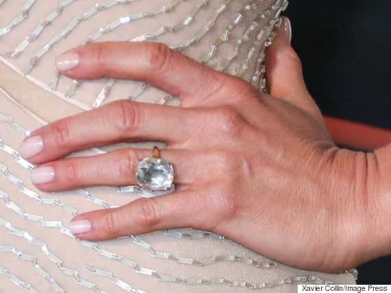 justin therouxs wedding ring is pretty intense huffpost uk