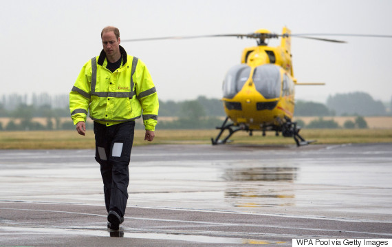 prince william air ambulance