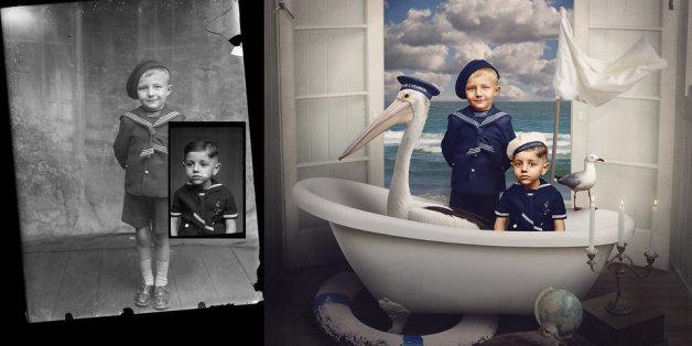 Ces photographies de Première Guerre mondiale ont été totalement réinventées par une artiste
