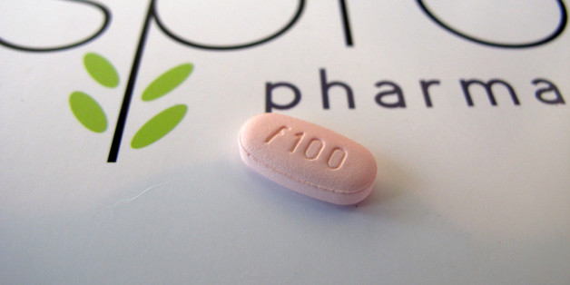 FILE - In this June 22, 2015, photo, a tablet of flibanserin sits on a brochure for Sprout Pharmaceuticals in the company's Raleigh, N.C., headquarters. The Food and Drug Administration on Tuesday, Aug. 18, 2015, approved the first prescription drug designed to boost sexual desire in women, a milestone long sought by a pharmaceutical industry eager to replicate the blockbuster success of impotence drugs for men. (AP Photo/Allen G. Breed)