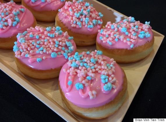 carnival explosion doughnut