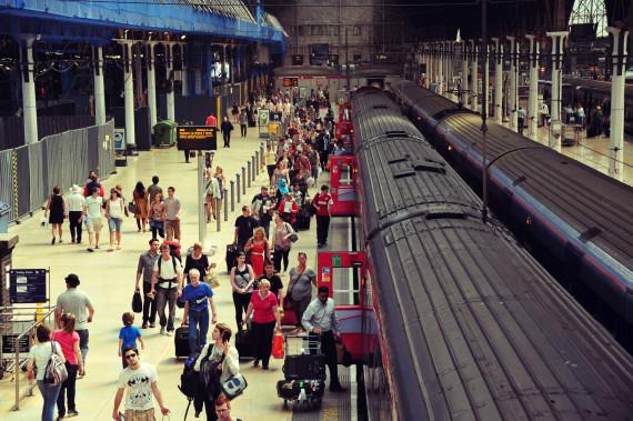 uk train platform