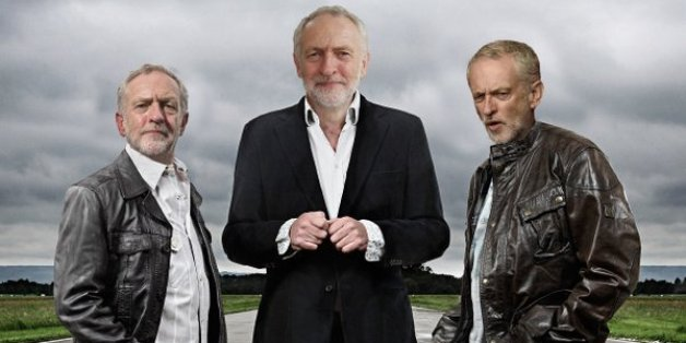 Jeremy Corbyn pictured by the @sexyjezzacorbyn Twitter account.