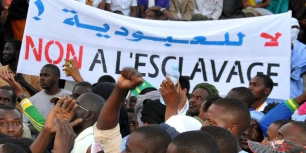 Une manifestation contre les discriminations et l'esclavage, à Nouakchott, le 29 avril 2015