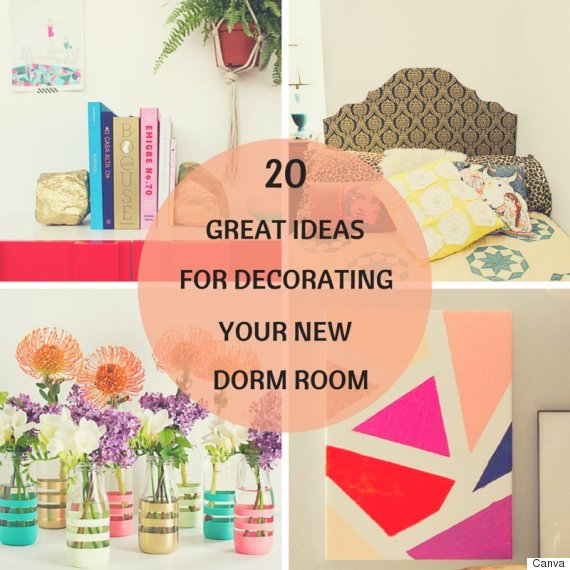 Dorm Room Decor: 20 Cheap And Easy Ways To Decorate Your ...