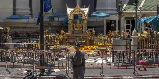 Au moins 10 personnes impliquées dans l'attentat de Bangkok selon la police