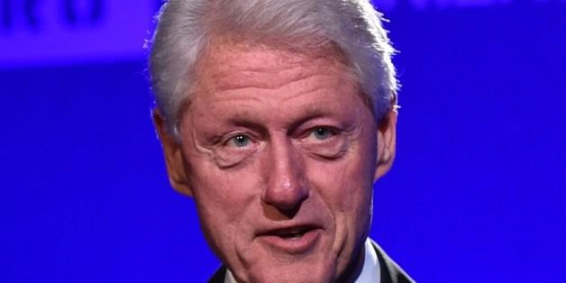 Musste ohne Frau und Tochter feiern: Bill Clinton