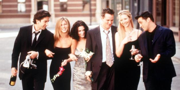 """Diese verstörende Szene bekamen die Zuschauer von """"Friends"""" nie zu sehen"""