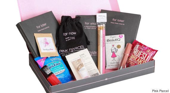 pink parcel