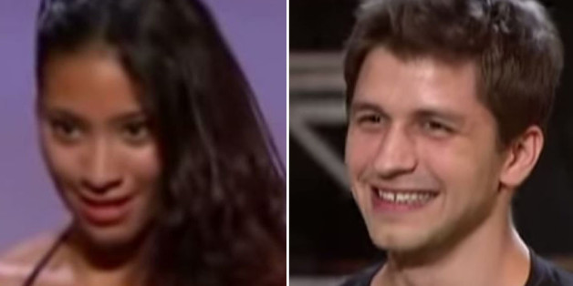Karen Hauer and Pasha Kovalev on their pre-'Strictly' days