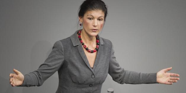 Sahra Wagenknecht will den Euro abschaffen