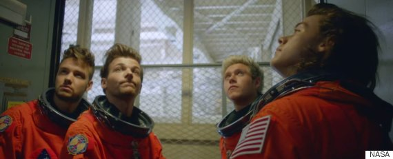nasa one direction