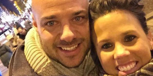 Glückliches Paar: Christian und Claudia Tews, hier im Dezember beim Liebesurlaub in Paris