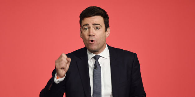Labour leadership hopeful Andy Burnham