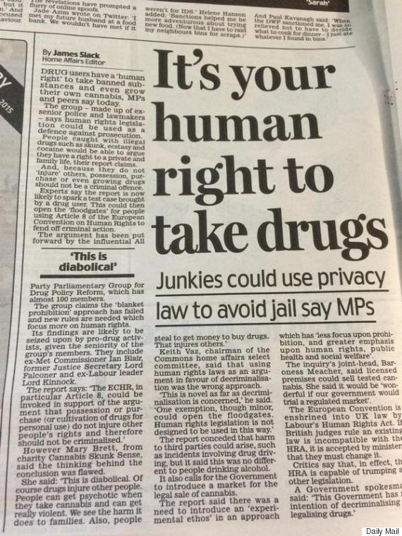 daily mail drugs