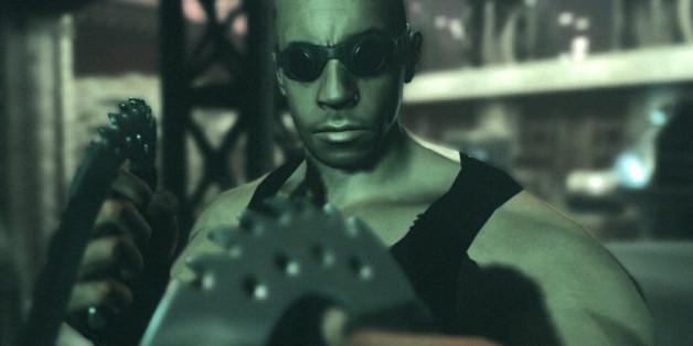 Schau doch nicht so böse, Riddick. Dein Spiel ist gut!