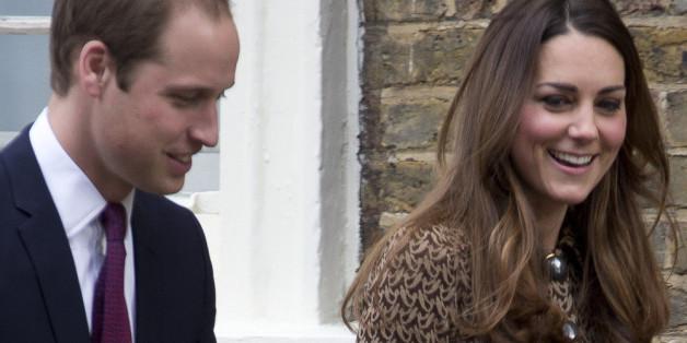 Tennis-Fans: Prinz William und Herzogin Catherine
