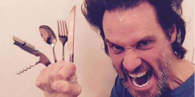 Jim Carrey kann als Wolverine durchaus mit Hugh Jackman mithalten
