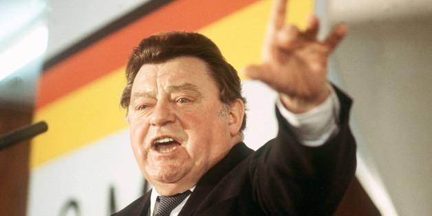 Schmiergeld kassiert? Pikante Vorwürfe gegen Franz Josef Strauß