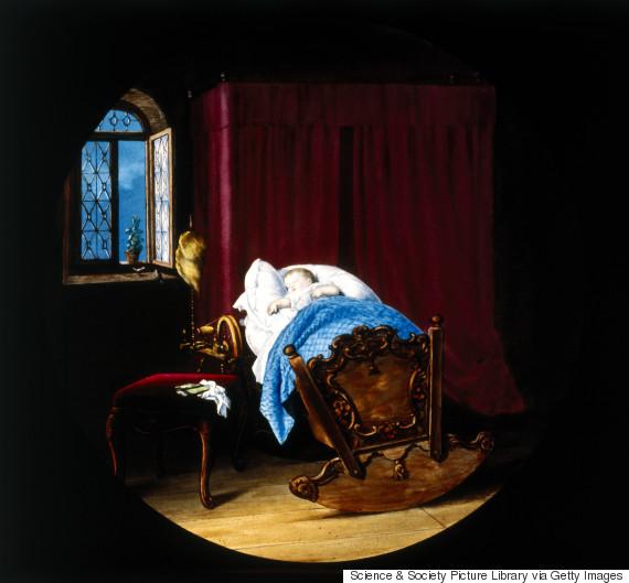 baby sleep 19th century
