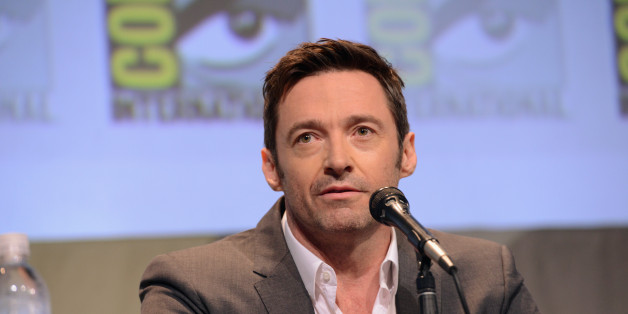 SAN DIEGO, CA - JULY 11:  Actor Hugh Jackman attends the Warner Bros. 'Pan' presentation during Comic-Con International 2015 at the San Diego Convention Center on July 11, 2015 in San Diego, California.  (Photo by Albert L. Ortega/Getty Images)