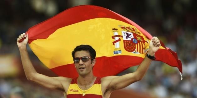 L'espagnol Angel Miguel Lopez, champion du monde du 20 kms marche