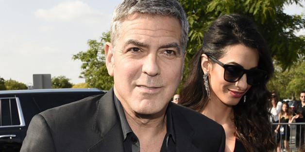 """George und Amal Clooney bei der Premiere von """"Tomorrowland"""" in Anaheim"""
