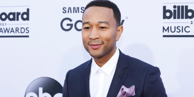 Seine Frau zeigte John Legend den Mittelfinger
