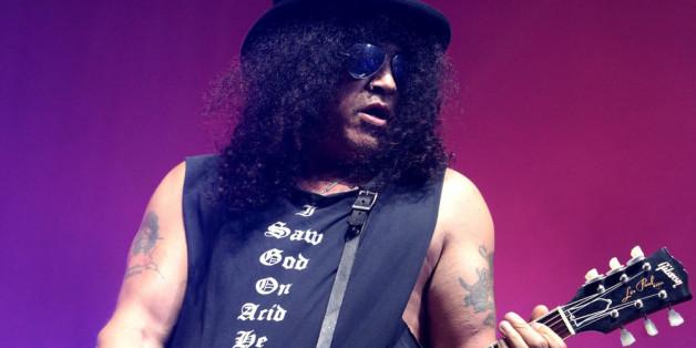 Steht Slash irgendwann wieder mit Guns N'Roses auf der Bühne?