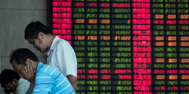Les Bourses asiatiques décrochent de concert, Shanghai s'enfonce de 8%