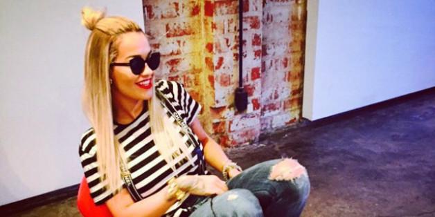 Rita Ora macht einen auf Aschenputtel. Ob der Prinz das hätte gelten lassen?