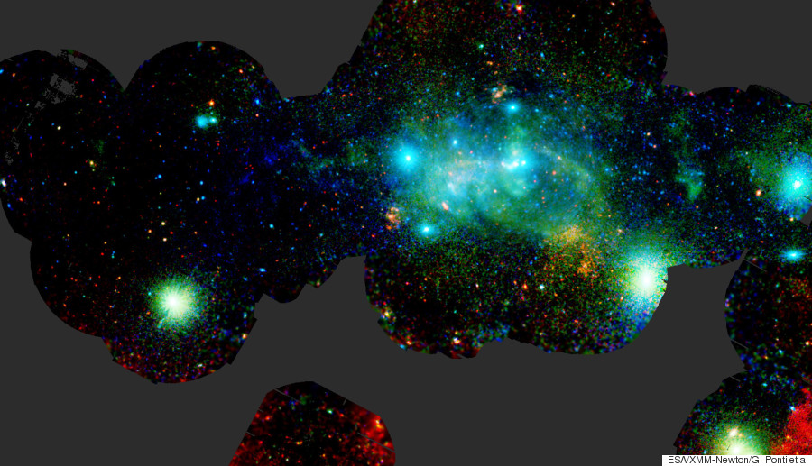 xray view of the galactic centre