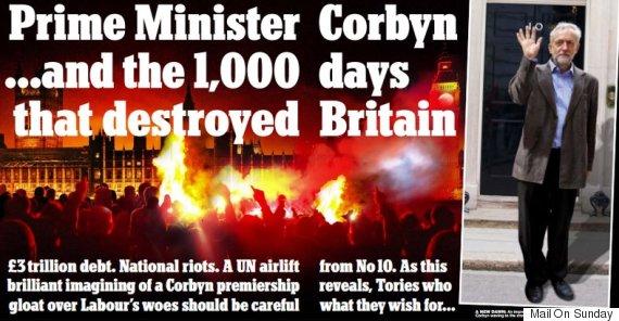 daily mail prime minister jeremy corbyn