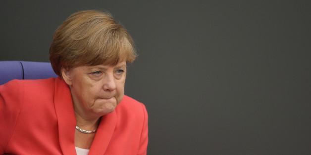 """""""Es ist abstoßend"""" - das sagt Merkel zu den Krawallen in Heidenau"""