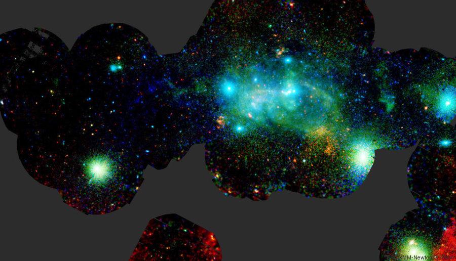 centre galaxie photo