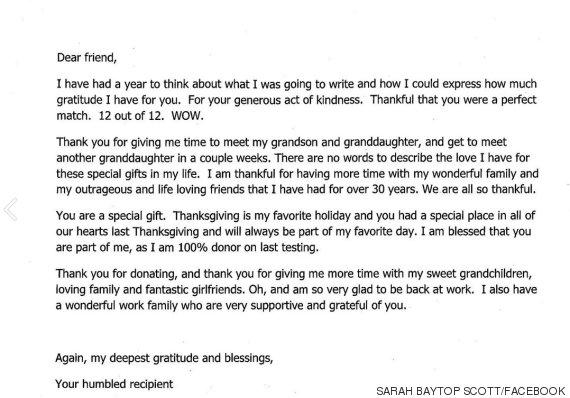 sarah baytop scott letter