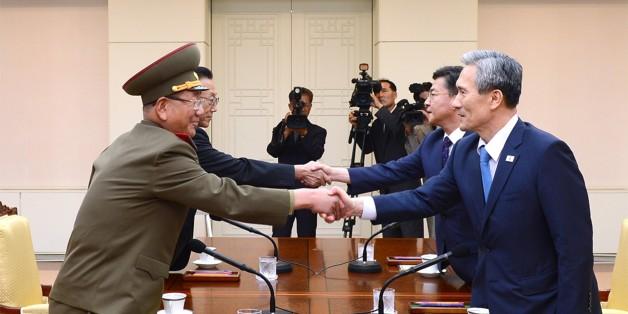 Vertreter Nord- und Südkoreas verhandeln am 22. August
